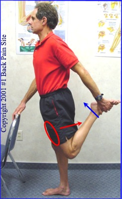 Start with stretching the left